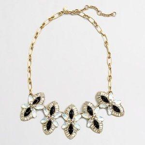 J.crew Shimmering Flower necklace